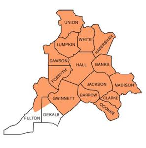 North East GA